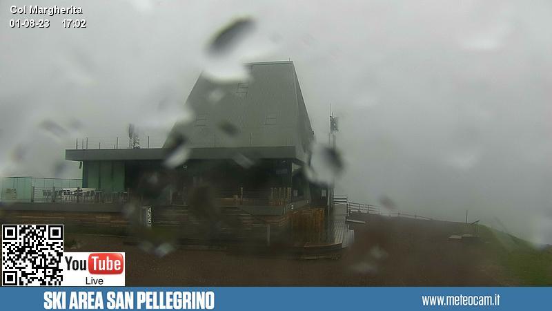 Webcam Arrivo funivia Col Margherita - Passo S. Pellegrino-Falcade