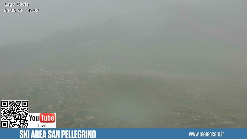 Webcam Lago Cavia - Falcade-Passo San Pellegrino
