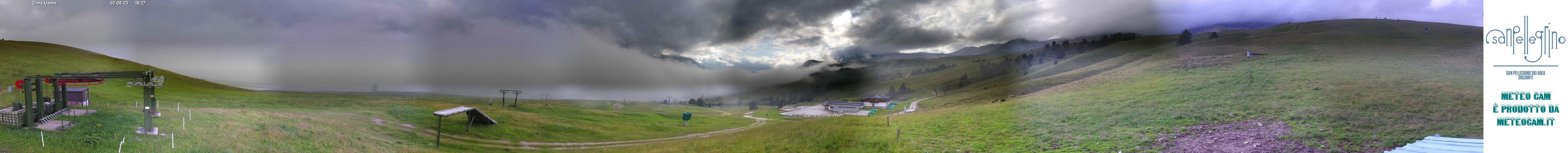 Webcam panoramica Chiesetta - Passo San Pellegrino-Falcade