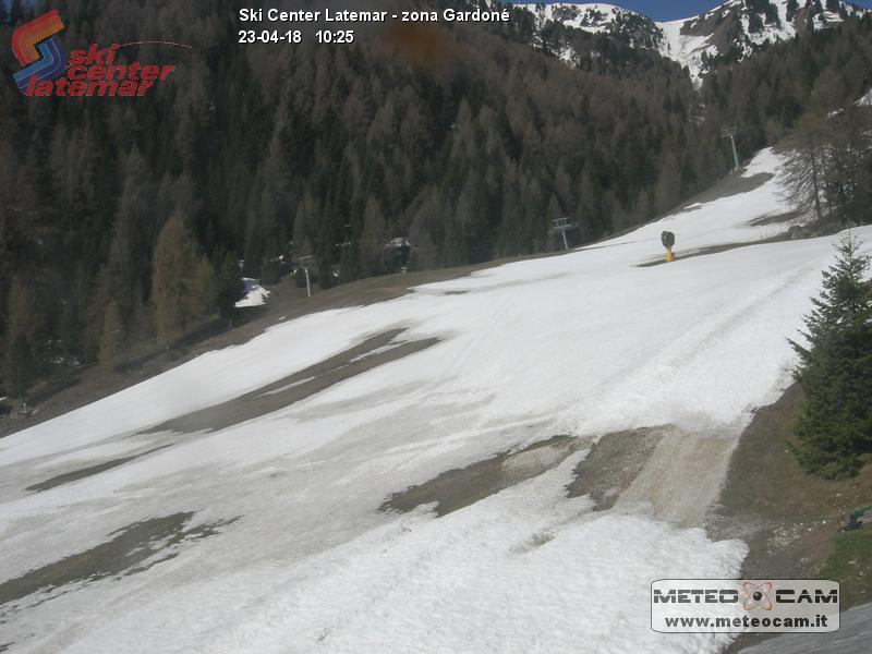 Webcam Pista Cinque Nazioni - Predazzo, Ski Center Latemar - Val di Fiemme